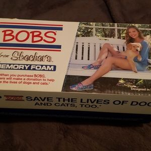 Women's loafers (Bob's Skechers), comes with box.